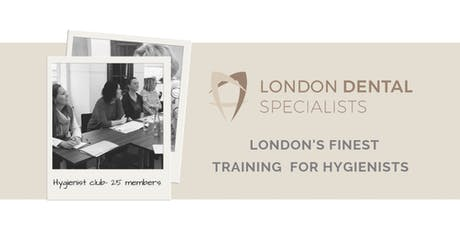 Hygienist and Therapist Dental Implant Maintenance.   tickets
