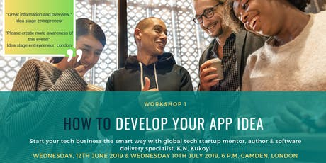 How to develop your app idea: Research strategies & techniques for success tickets