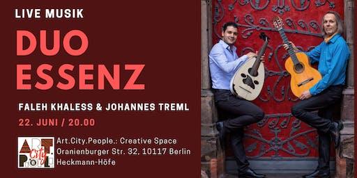 Duo Essenz / Live Musik / Faleh Khaless & Johannes Treml