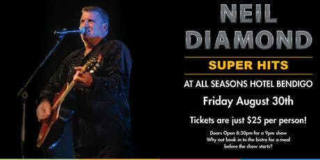 Neil Diamond Tribute Show tickets