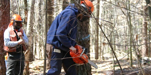 STORM DAMAGE TRAINING, Game of Logging Chainsaw Training, October 10, 2019