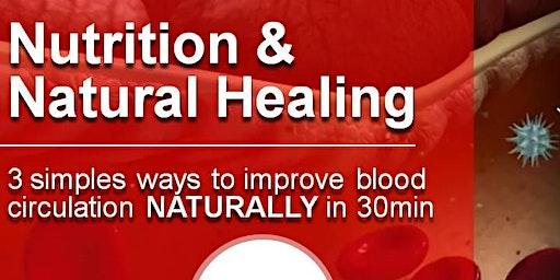 Blood Circulation Nutrition & Natural Healing