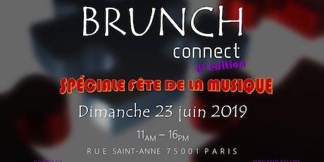BRUNCH CONNECT #8 - SPÉCIALE FÊTE DE LA MUSIQUE billets