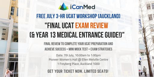 Final UCAT Exam Review (& Year 13 Medical Entrance Guide!)