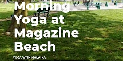 Yoga at Magazine Beach