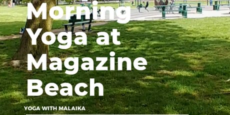 Yoga at Magazine Beach tickets