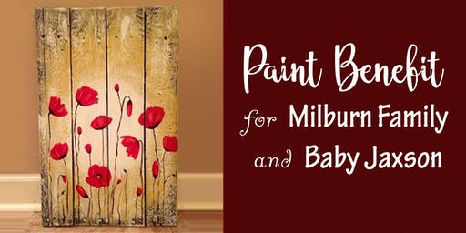 Paint Benefit for Milburn Family and Baby Jaxson