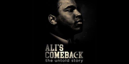 Chicago ADIFF 2019 Opening Film: Ali's Comeback + Q&A & Reception - June 21