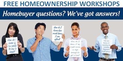 FREE Homeownership Workshop: Basics of Budgeting