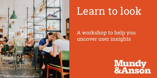 Uncovering user insights by learning to look