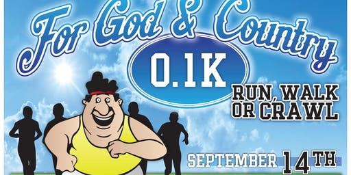 4th Annual For God & Country 0.1K