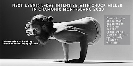 5-DAY INTENSIVE COURSE WITH CHUCK MILLER IN CHAMONIX 2020 tickets