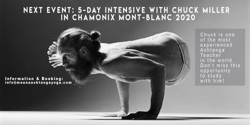 5-DAY INTENSIVE COURSE WITH CHUCK MILLER IN CHAMONIX 2020