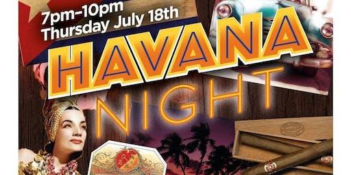 Waterside HAVANA NIGHT event