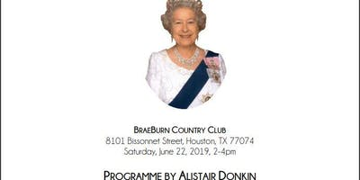 Houston Grampian Association Queen Elizabeth's Birthday Afternoon Tea Celebration