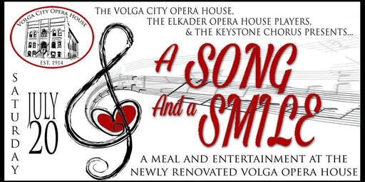 A Song and a Smile - A Summer Cabaret  Celebrating Music & Comedy