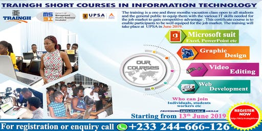 I.T. Professional Certificate Short Courses