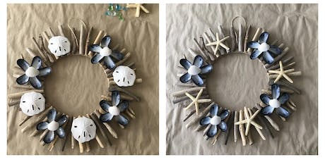 Driftwood Wreath  - Wednesday, July 17 @ 7pm tickets
