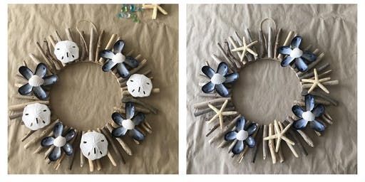 Driftwood Wreath  - Wednesday, July 17 @ 7pm