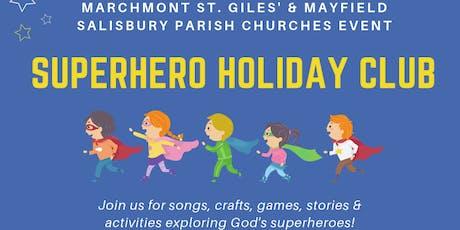 Superhero Summer Holiday Club tickets