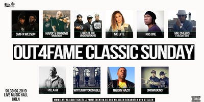 Out4Fame Classic Sunday - 30.06.19 - Live Music Hall