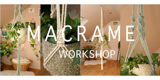 Macrame Plant Hanger Workshop - Beginners