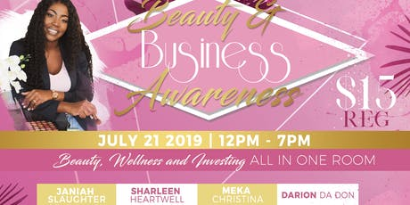 beauty and business awareness tickets