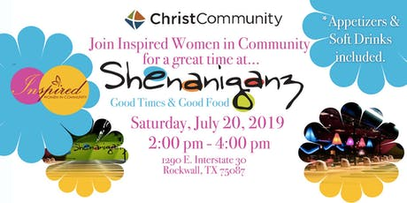 Inspired Women at Shenaniganz tickets