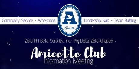 PDZ Amicette Club Informational Meeting tickets
