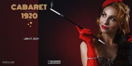 Cabaret 1920 tickets