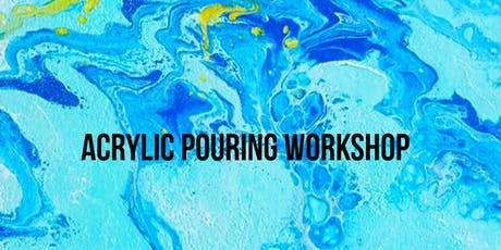 6/20 $25 Acrylic Pouring @ Paint Like ME Studio tickets