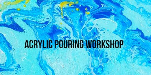 6/20 $25 Acrylic Pouring @ Paint Like ME Studio