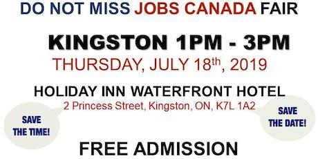 FREE: Kingston Job Fair –July 18th, 2019 tickets