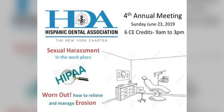 HDA 4th Annual Meeting tickets