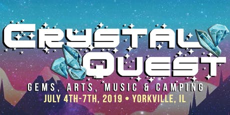 Crystal Quest: Gems, Arts & Music Camping Festival tickets