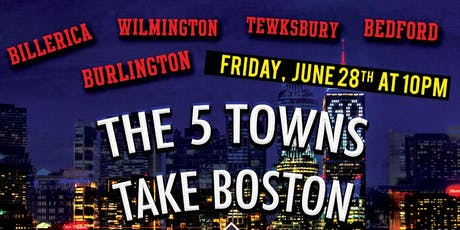 The 5 Towns Take Boston tickets