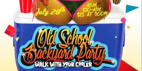 Old school backyard party tickets