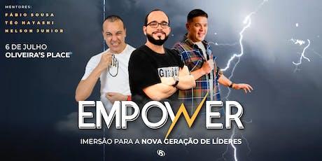 Empower - Imersão para a Nova Geração de Líderes ingressos