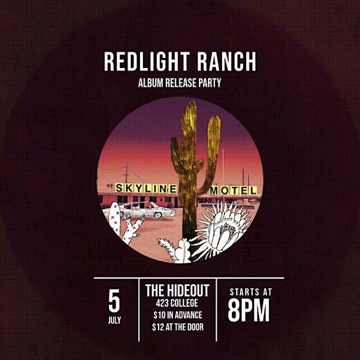 Redlight Ranch album release party image