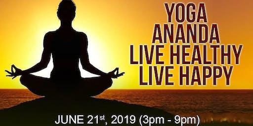 YOGA ANANDA - LIVE HEALTHY | LIVE HAPPY