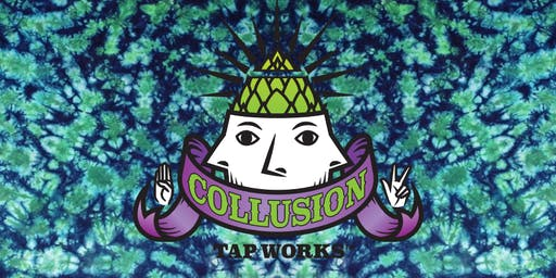 DIY Tie-Dye and Pint at Collusion Tap Works!