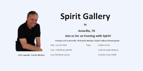 Spirit Gallery in Amarillo tickets