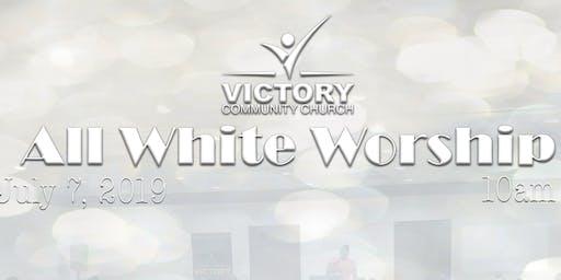 All White Worship