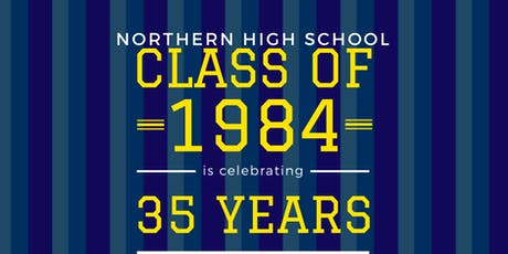 PHN Class of 1984 35th Reunion tickets