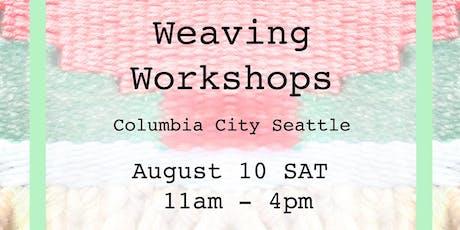 Weaving Wall Hanging Workshop! tickets