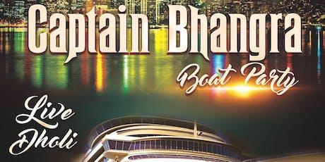 Captain Bhangra : Boat Party tickets
