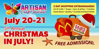 Artisan Craft Festival - Christmas in July