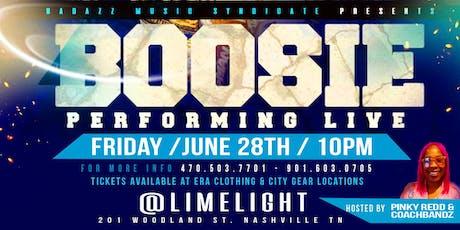 Boosie Badazz Nashville Summer 2k19 tickets