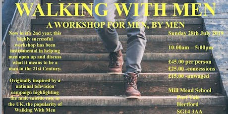 Walking with Men tickets
