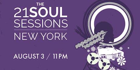 The 21 Soul Sessions, New York ft BLUKE, BLURUM 13 & Luke Vibert & More TBA tickets